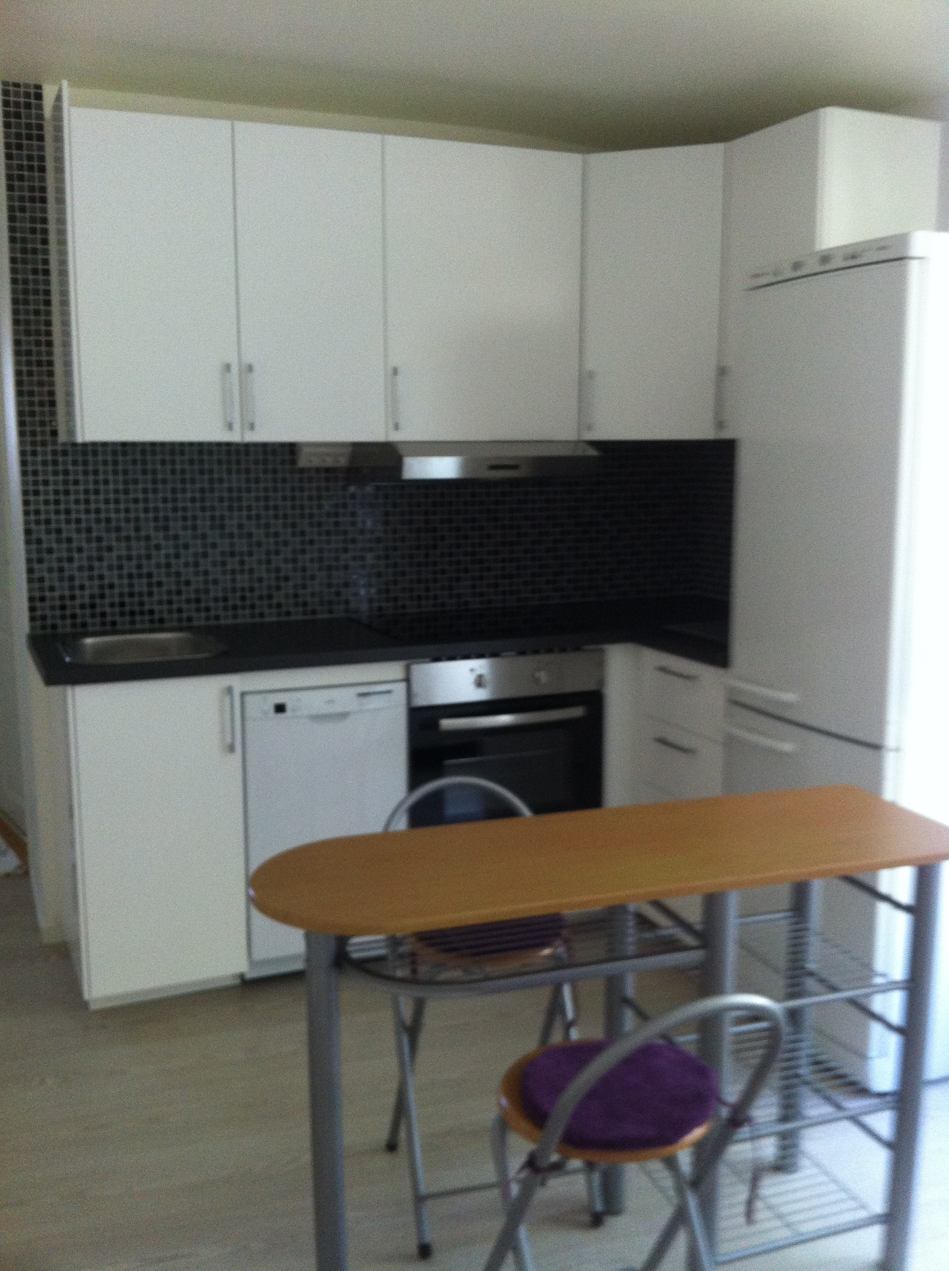 2 rok lägenhet vid villa uthyres