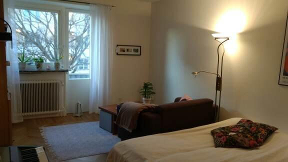 Välplanerad, möblerad lägenhet på Gärdet.