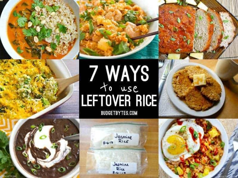 7 Ways to Use Leftover Rice