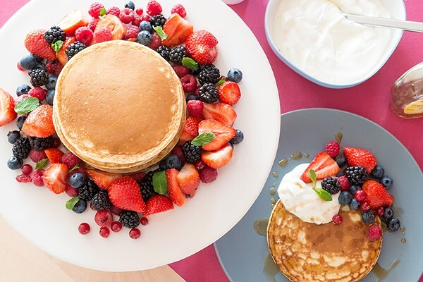 Recepten voor ontbijt recepten zonder koolhydraten - myTaste American Pancakes Recept