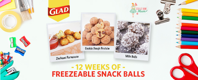 Twelve Weeks of Freezable Snack Balls