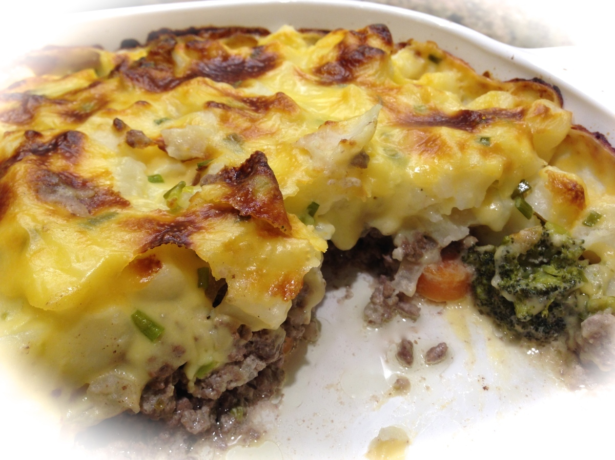 Ground Beef and Crispy Potato Casserole…