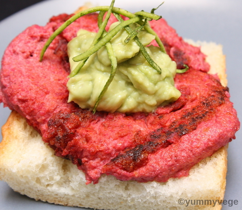 Tofu Beetroot Burger