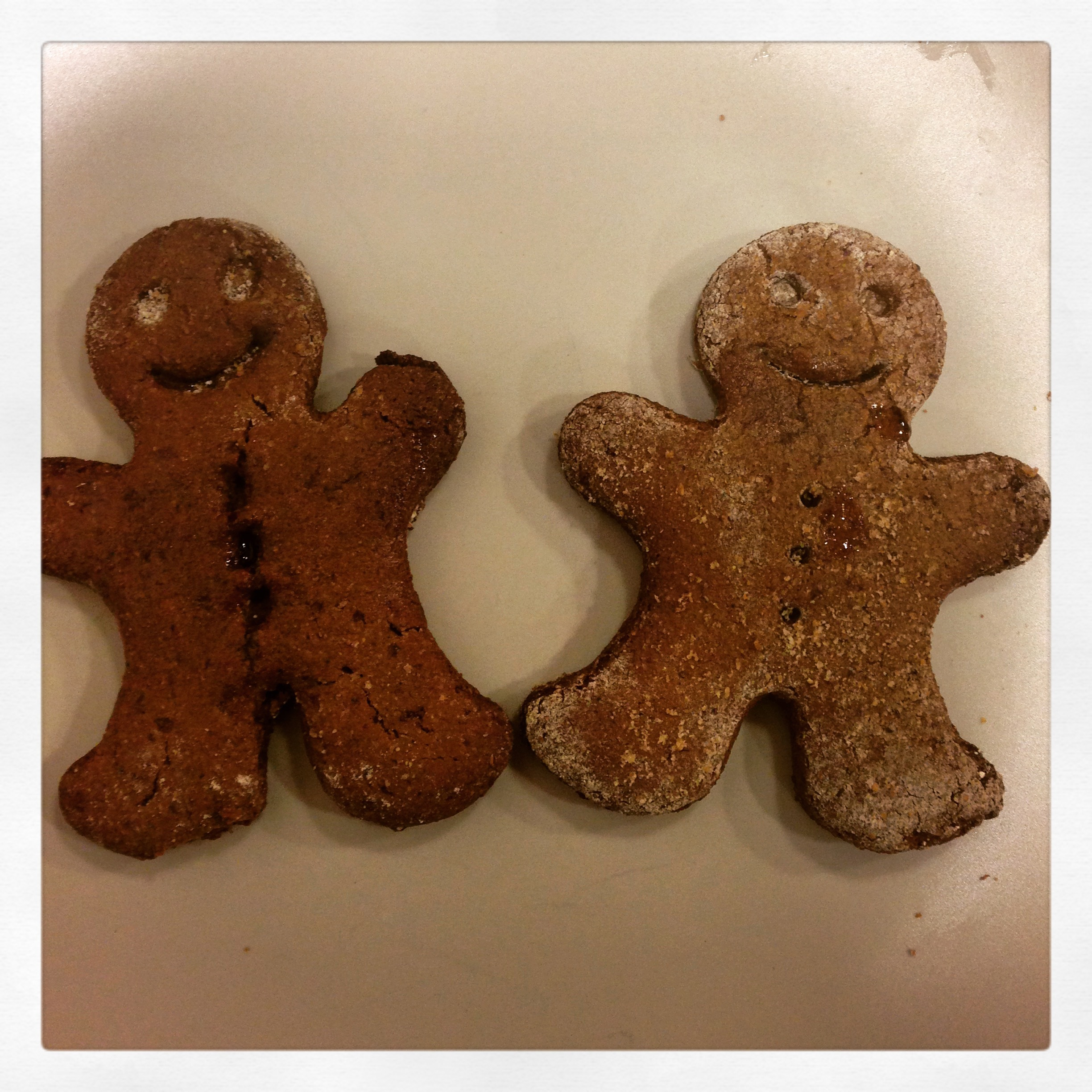 Organic Vegan Gingerbread Men