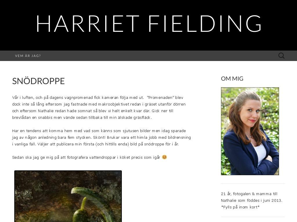 Harriet Fielding