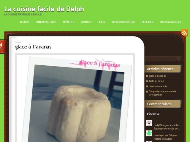 La cuisine facile de Delph | La cuisine pratique & facile