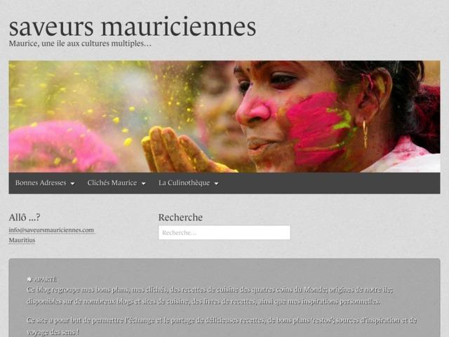 Saveurs mauriciennes