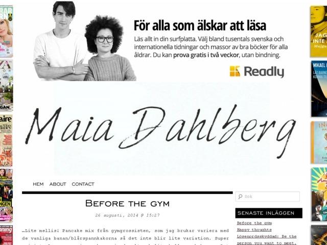 Maia Dahlberg