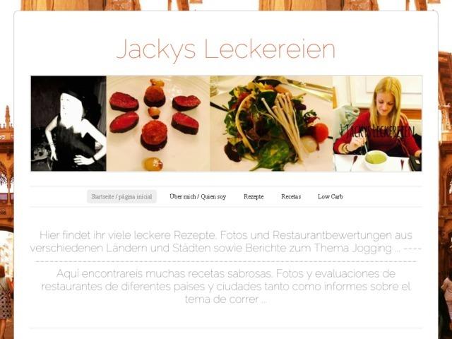Jackys Leckereien