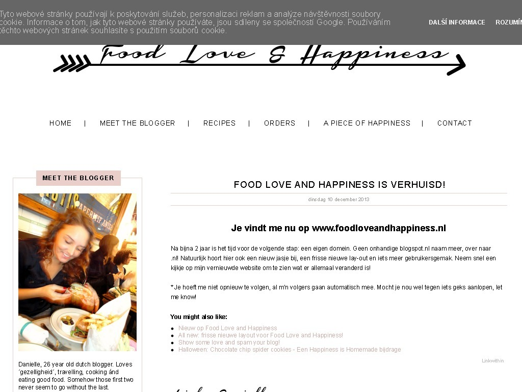 Food Love and Happiness
