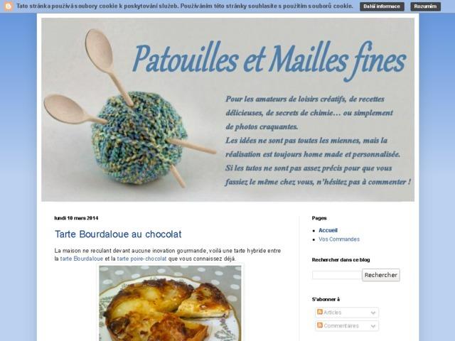 Patouilles et Mailles Fines