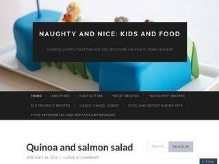 Naughty and Nice: Kids and Food