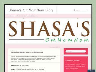 Shasas OmNomNom Blog  