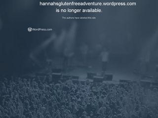 Hannahs gluten free adventure