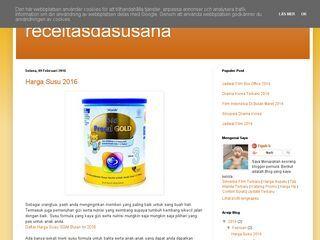 Receitas da Susana