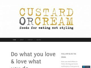 Custard or Cream