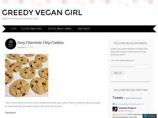 Greedy Vegan Girl