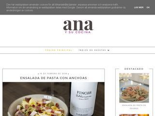 Ana y su cocina