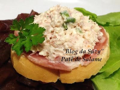 Patê de Salame (fácil)