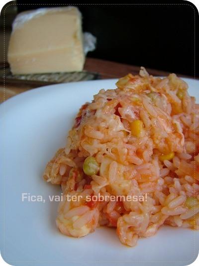 como fazer arroz com alho desidratado