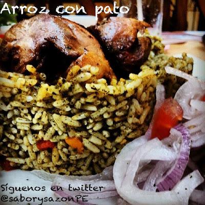 Como preparo un ARROZ CON PATO - Recetas de comida fácil - COMO PREPARAR UN ARROZ CON PATO PERUANO