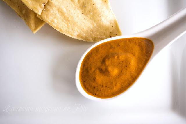 Exquisita salsa de la mamá de Toño