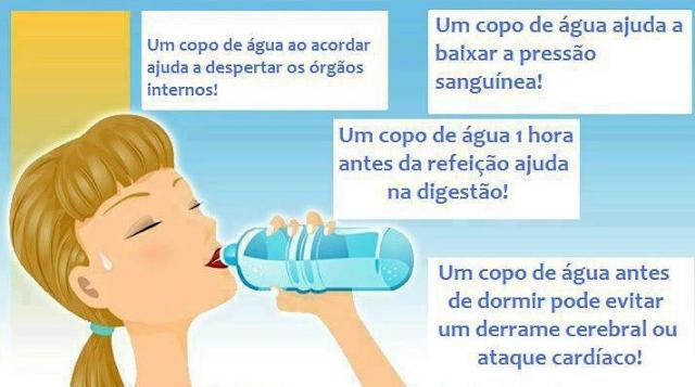 Beber Água em Jejum traz Benefícios à Saúde
