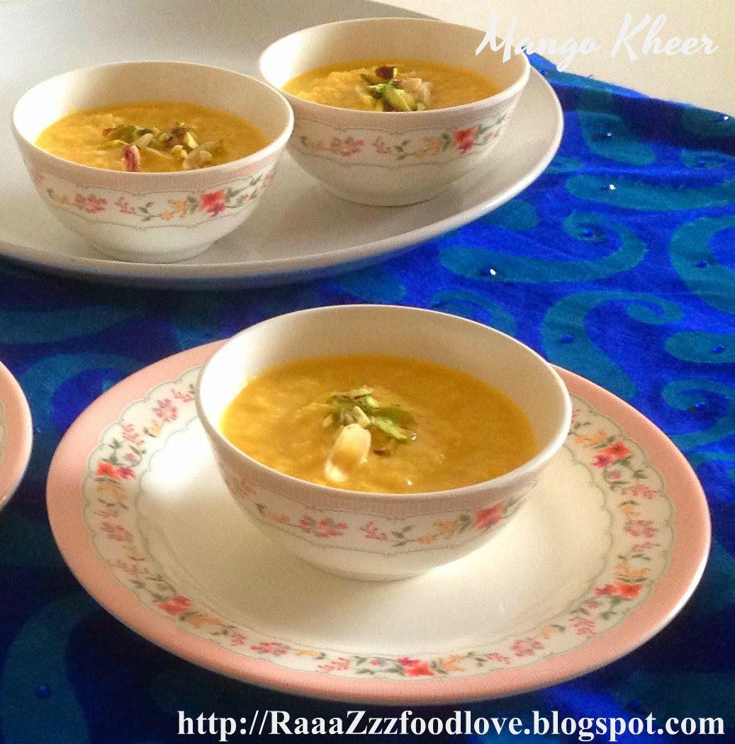 Mango Kheer Recipe | Aam ki Kheer