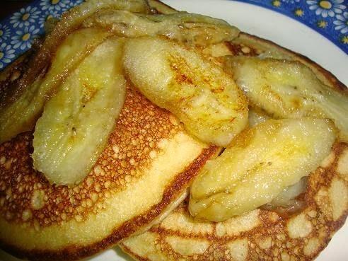 Hot Cakes de Plátano