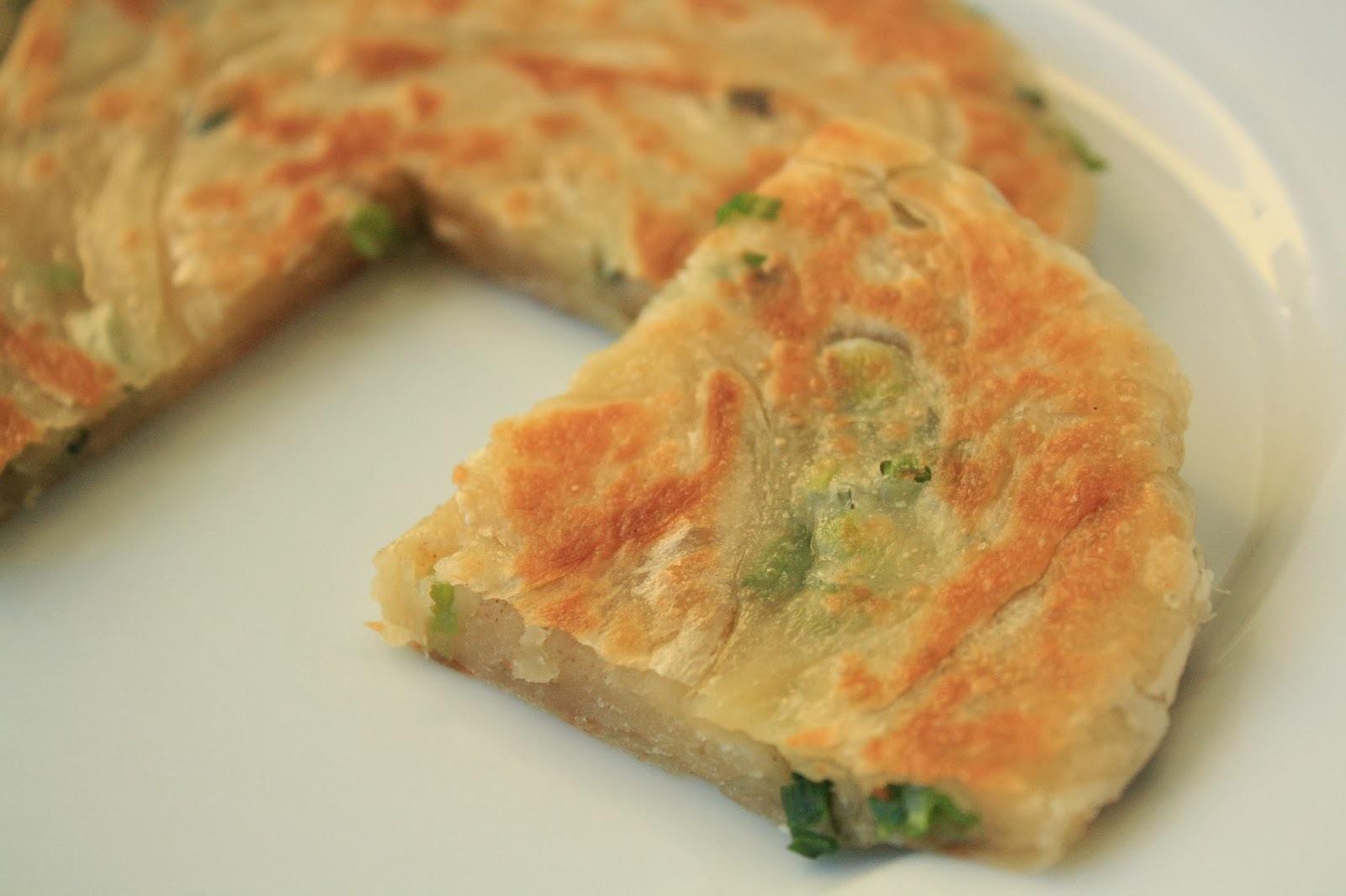 [中式麵食] 蔥油餅