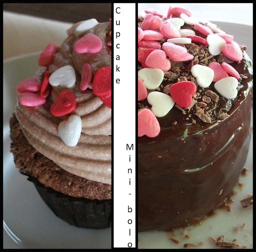 Cupcake e Mini-bolo