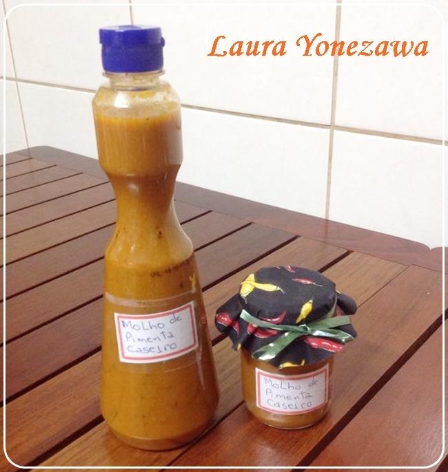 Molho de pimenta caseiro, de Laura Yonezawa