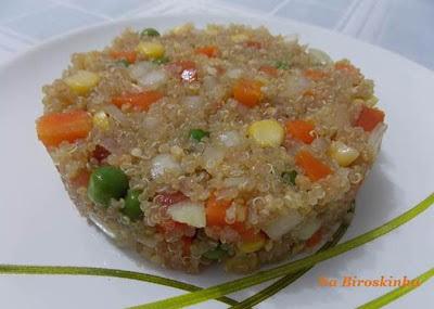 Salada de Quinua com Legumes
