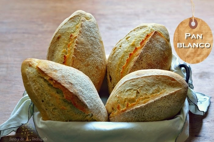 Pan blanco (para bocadillo)