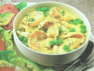 Seafood Curry Chowder/Fruits de mer au curry Chowder