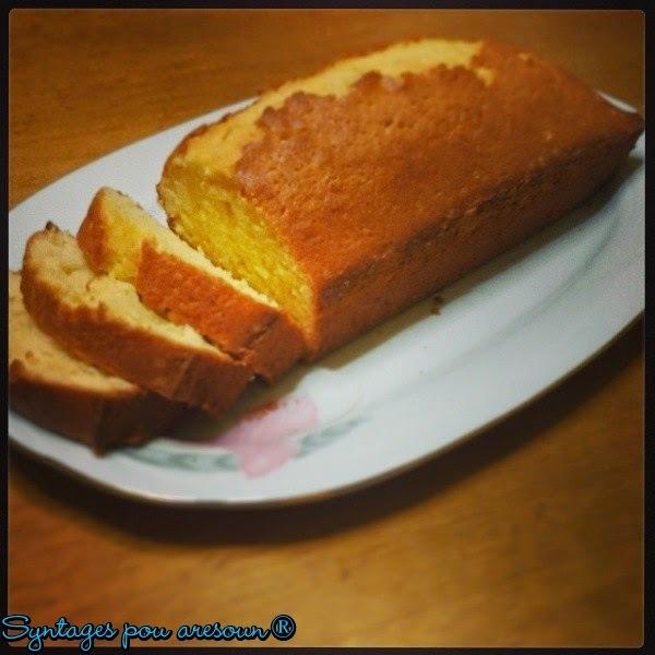 Κέικ λεμονιού (χωρίς μίξερ)