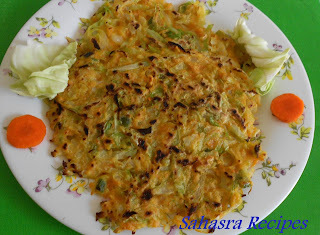 Cabbage Pancake