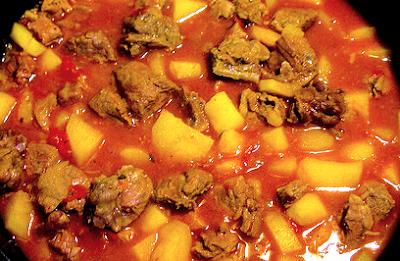 Goulasch (30 minutos + 90 en cocción)