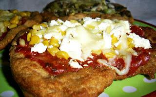 Krumplis lángos variációk feltéttel, avagy a lángos pizza