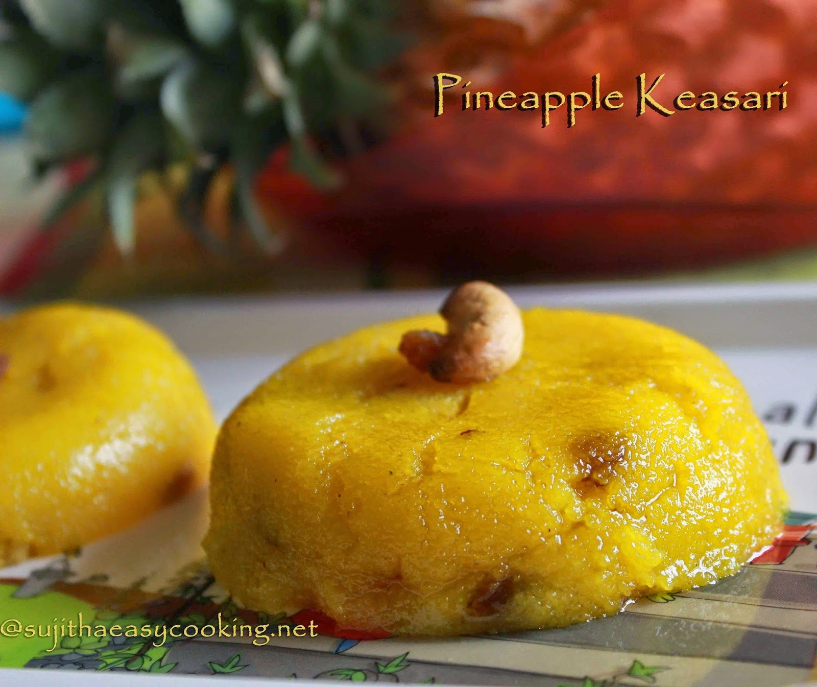 Pineapple Kesari/Pineapple keasari