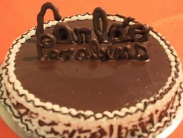 Creme de chocolate para recheio e cobertura
