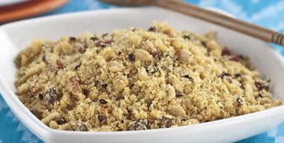 como fazer farofa de amendoim
