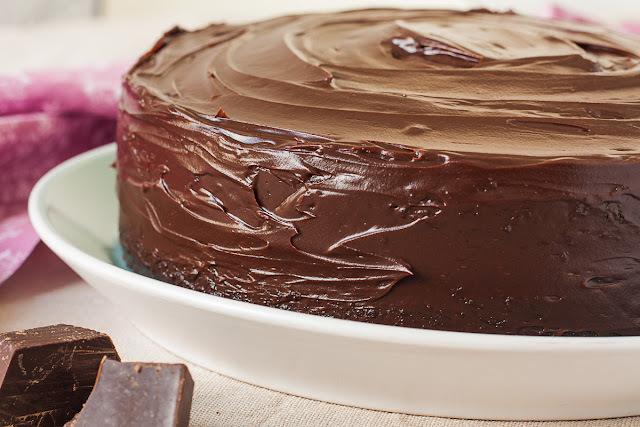 Čokoladno čokoladna torta