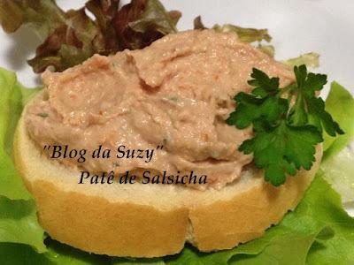 Patê de Salsicha (fácil)