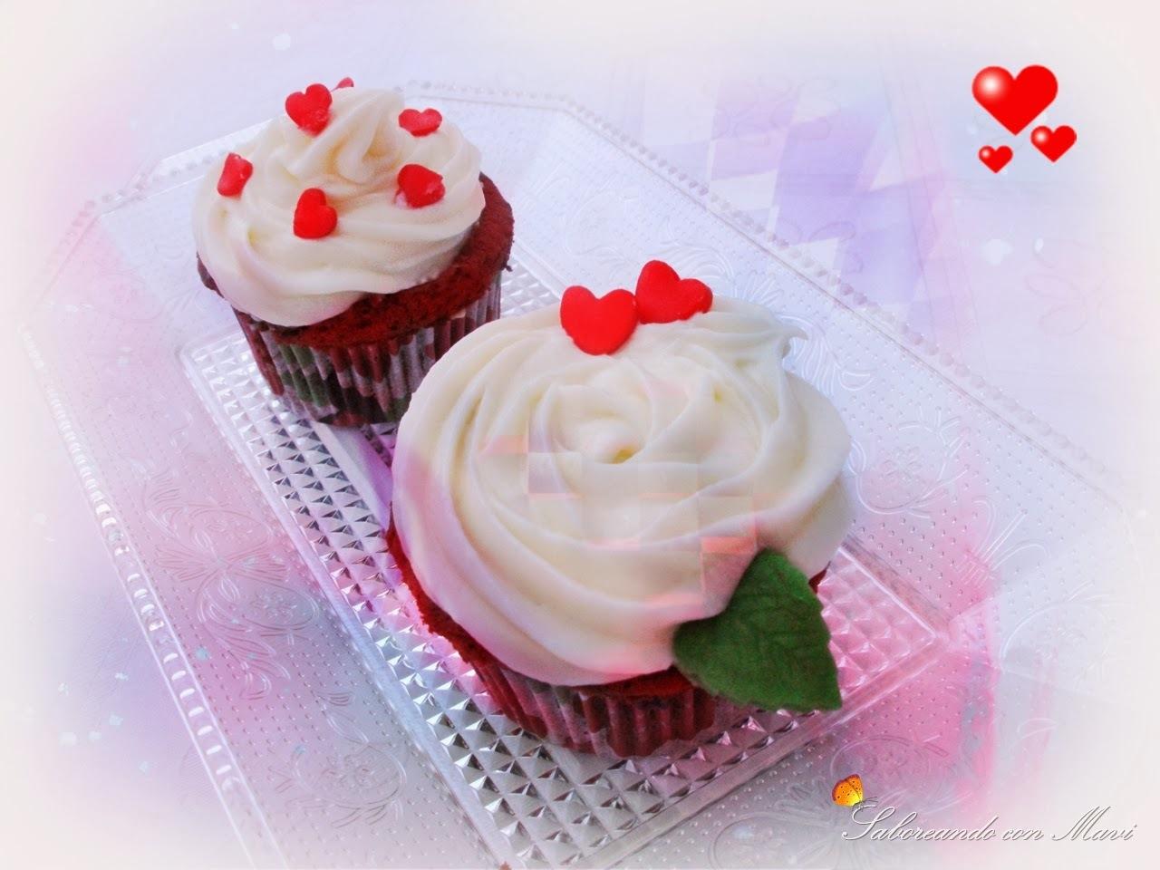 Cupcake's San Valentín Redvelet
