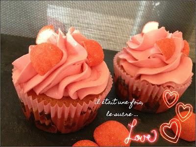 Cupcakes Fraise Tagada ...