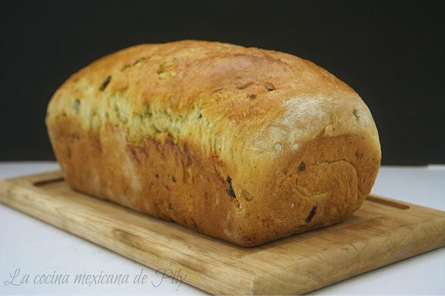 Pan de Chile Poblano