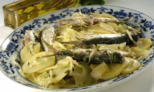 sardinha ensopada com batata