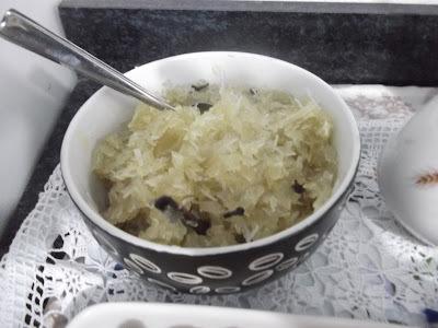 como se faz doce de mamão verde ralado