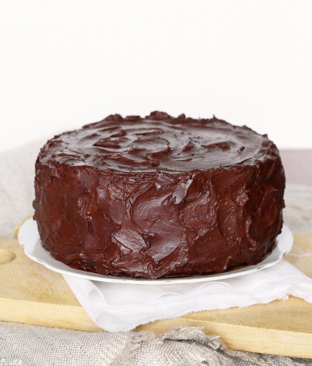 Шоколадный торт / Bolo de chocolate